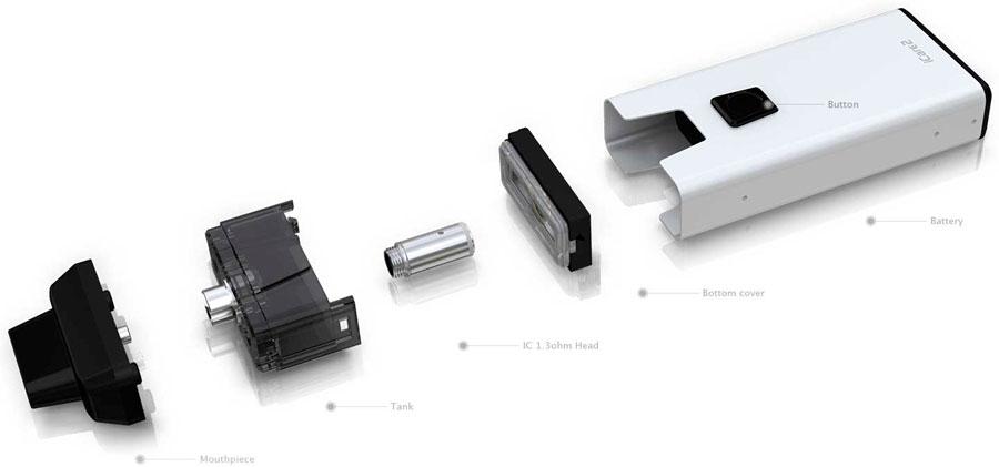 Eleaf-icare-2-komponenter