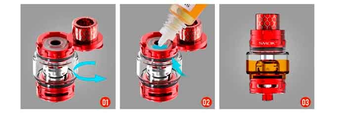 SMOK-tfv12-baby-p-filling