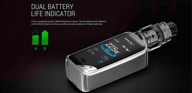 SMOK-X-priv-225w-mod-batterier